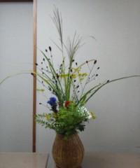 お月見の花